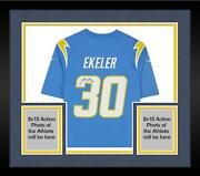 Frmd Austin Ekeler Los Angeles Chargers Signed Powder Blue Nike Game Jersey