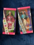 Vintage Nib Native American Barbie 1993 Special Edition Dolls Of The World Lot