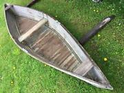 Hunting Trapping Marsh Boat Canoe Vermont Lake Champlain Decoy Vtg Old Pirogue