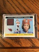 2004 Fleer Tradition Throwback Threads Larry Fitzgerald Rookie Patch Tt-lf