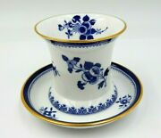Antique Spode Bone China Gloucester Y6135 Pattern Cup And Saucer Made In England
