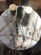 Lot Of Vintage Estate/vintage Jewelry Necklaces, Pins , Key Chain And More