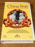 China Seas Vhs Vcr Video Tape Used Clamshell Clark Gable