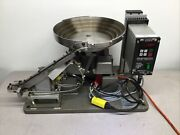 Fortville Feeders 20645-1 Vibratory Bowl Parts Feeder, 14 Bowl W/ Controller