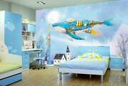 3d Painted Whale Kep9023 Wallpaper Mural Self-adhesive Removable Sticker Kay