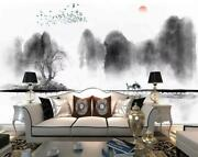 3d Ink Art Tree Kep9027 Wallpaper Mural Self-adhesive Removable Sticker Kay