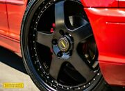 """4x Genuine Simmons 22"""" Fr-1 Ford Fg Fgx Falcon Staggered Wheels New Tyres"""