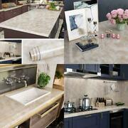 Livelynine 24x197 Inch Wide Countertop Contact Paper Granite Sticker Kitchen Cou
