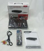 Iview Converter Box - Converts Digital To Analog Tv - 3500stbii - W/ Remote