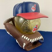 Vintage Chief Wahoo Cleveland Indians 6 Novelty Gumball Machine