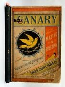 1880 Antique Amazing Canary Bird Mating,breed,care,management Book Illustrated