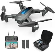 Deerc D10 5ghz Wifi Drone With 1080p Hd Camera 120anddeg Fov Fpv Foldable Quadcopter