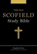 Old Scofield Study Bible-kjv-classic 1917 Notes Book New