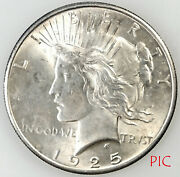 1925 Peace Silver Dollar Coin Unsorted Ungraded Estate Collection Very Nice