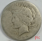 1922-s Peace Silver Dollar Coin Unsorted Ungraded Estate Collection Very Nice 2