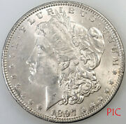 1897 Morgan Silver Dollar Coin Unsorted Ungraded Estate Collection Very Nice