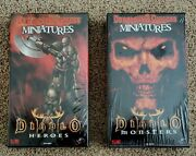 Dungeons And Dragons Miniatures Diablo 2 Ii - Monsters And Heroes Boxes Blizzard