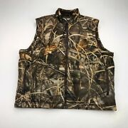 Gamehide Vest Puffer Down-filled Menand039s Xl Hunting Camouflage