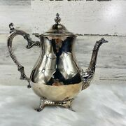 Vintage Wm Rogers Silver-plate Coffee Pot Pitcher - Series Number 800