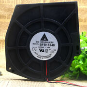 1pc Delta Bfb1624h 159x165x40mm 3-wire Ball Blower Cooling Fan