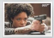 2013 James Bond Artifacts And Relics Skyfall Gold 15/100 Miss Moneypenny 081 D8k