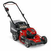 Snapper Hd 48v Max Cordless Electric 20-inch Lawn Mower Battery And Charger N...