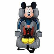 Kidsembrace 2-in-1 Harness Booster Car Seat, Disney Mickey Mouse