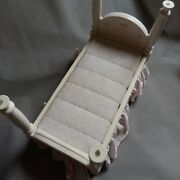 Vintage Little Tikes Big Dollhouse Barbie Size Bed 14 X 7.5 Inches