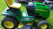 John Deere L120 Hydro 48and039and039 Deck