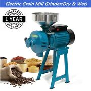 Upgrade 3000w Electric Grinder Wetanddry Feed/flour Mill Cereals Grain Corn Wheat
