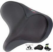 Giddy Up Bike Seat - Oversize Comfortable Bicycle Saddle - Extra Wide Replace...