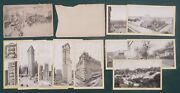 Lot 1904 Antique 10 Singer Sewing Machine New York Ny Souvenir Cards Broadway