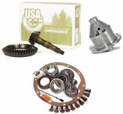 Dana 44 Reverse Ford Front Yukon Grizzly Locker 5.38 Ring And Pinion Usa Gear