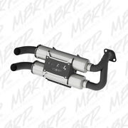 Mbrp Slip On Dual Performance Mufflers For Polaris Rzr S General At-9519pt