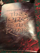 Lord Of The Rings Advance Movie Poster For Animated Ralph Bakshi 1978