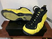 Pre-owned Nike Air Foamposite One Wu Tang Sz9 Optic Yellow Galaxy All Star Royal