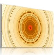 Rings Circles Abstract Canvas Wall Art Picture Az512 Mataga Unframed-rolled