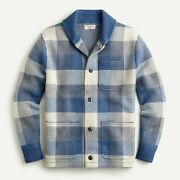 Brand New J.crew Wallace And Barnes 228 Boiled Merino Wool Chore Jacket / Small S
