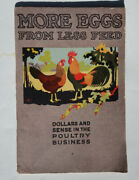 1925 American Poultry School Catalog / Promotion Chicken Industry More Eggs