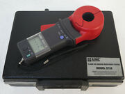 Aemc Model 3710 Clamp-on Ground Resistance Tester - With Original Case