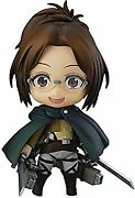 Secondhand Nendoroid Attack On Titan Hanji Zoe Non-scale Abs Made Of Pvc Painted