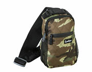 Cookies Noah Quilted Nylon Over-the-shoulder Green Camo Sling Bag 1538a3534-grc