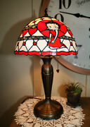 Danbury Mint, Betty Boop, Character, Stained Glass Lamp, Vintage, Kr 662-1