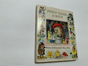 Pinny Takes A Bath By Racey Helps Hb With Dj Book Chilton Books 1966 1st Ed