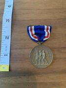 1899 Congressional Medal Us Philippine Insurrection Stamped No. 7858
