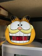 Garfield Alarm Clock 1991 Vintage Tested Very Good Condition