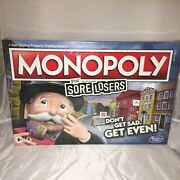 Monopoly For Sore Losers Limited Edition Collectors Edition Sealed New
