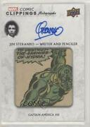2020 Upper Deck Marvel Ages Comic Clippings Autos 4/10 St-ca111 Auto G0a