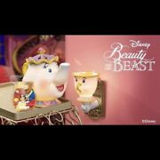 Scentsy Beauty And The Beast Mrs. Potts Warmer And Chip Mini Warmer Wax Preorder