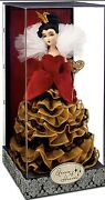 Disney Limited Edition Designer Villains Doll Queen Of Hearts Doll